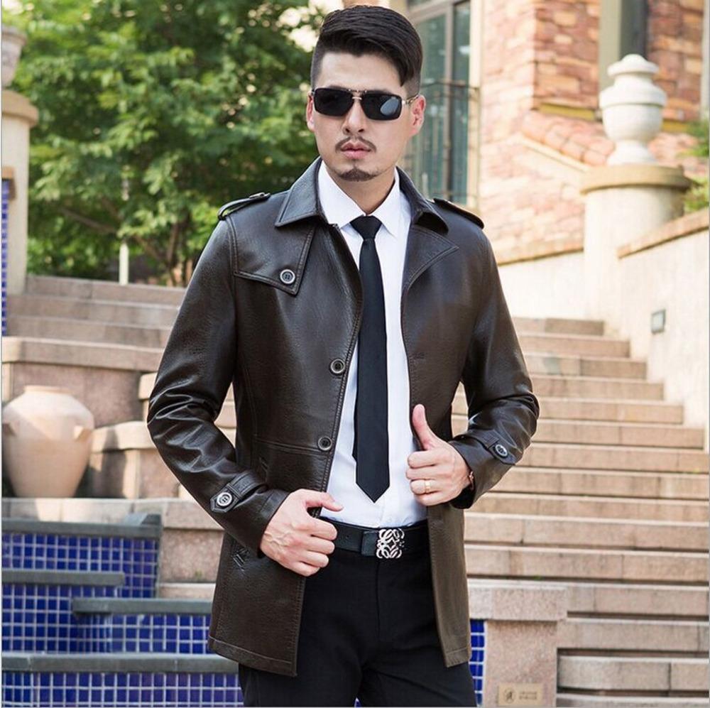 Здесь можно купить  2016 New Fashion Mens Leather Jackets and Coats Mens Warm Winter Coat Men Leather Jacket Men Simple veste cuir homme TT1643  Одежда и аксессуары