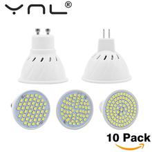 Buy 10PCS/Lot Lampada Led E27 E14 GU10 MR16 Led Lamp 220V High Bright Bombillas LED Bulb SMD 2835 48 60 80LEDs Lampara Spotlight for $10.27 in AliExpress store