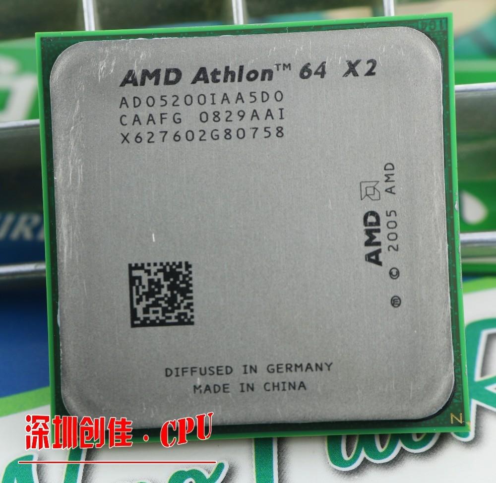 Процессор для ПК amd Athlon 64 x 2 5200 + 2,7 1 /am2 socket 940 CPU scrattered