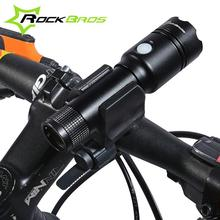 Buy ROCKBROS Waterproof Ultra Bright Cycling Bicycle Light Set Bike Front Head Light Lamp & 3 Modes Safety Rechargable Flashlight for $27.26 in AliExpress store