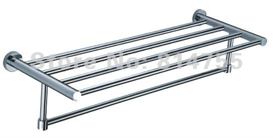 (24'',60cm)Double Towel Racks,Towel Holder/Shelf,Stainless Steel Construction,Chrome finish,bathroom accessories,Free Shipping