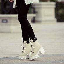 ผู้หญิงแพลตฟอร์มรองเท้าฝูงสแควร์รองเท้าส้นสูงรอง(China)