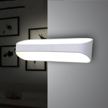 Simple Bathroom Wall Sconces : Simple Modern Aluminum Wall Sconces Waterproof Fog Mirror LED Wall Light For Home Indoor ...