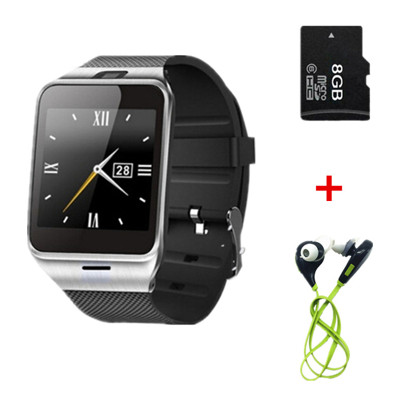 """Original Aplus Bluetooth Smart Watch GV18 Phone 1.55"""" support NFC Cam Sync Call SMS for iphone Samsung Android Smartwatch Phone(China (Mainland))"""