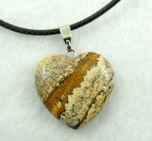 Kamień naturalny turkusy awenturyn Quartz kryształ tygrysie oko lapis wisiorki serca dla diy tworzenia biżuterii naszyjniki akcesoria(China)