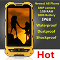 Original A8 IP68 A9 V9 Waterproof Shockproof Rugged Phone MTK6582 Quad Core Android 4 2 1GB