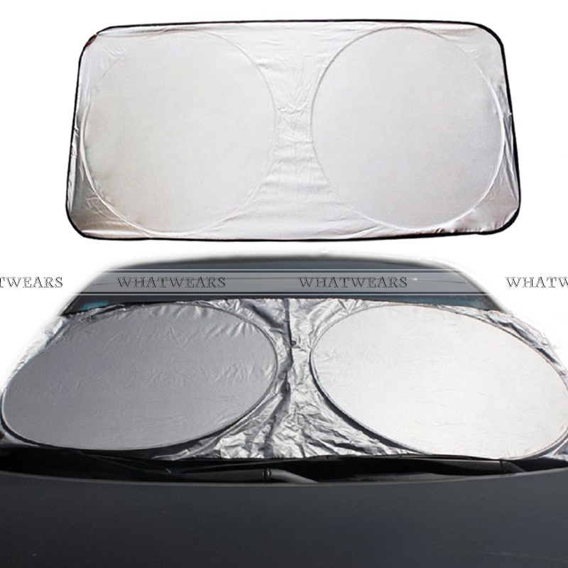 Car Window Sun Shade Car Windshield Visor Cover Block Front Window Sunshade UV Protect Car Window Film(China (Mainland))
