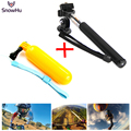 go pro Accessories monopod tripod mount Handler Floating hand grip bobber for gopro hero 4 3