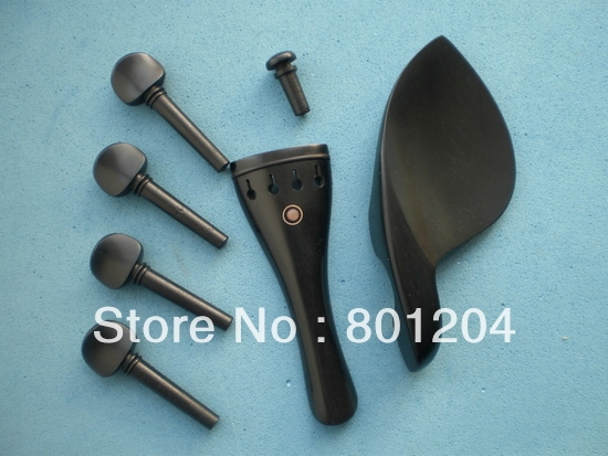 2 Sets of  Violin Fitting Ebony(4/4 size), violin accessories, violin parts
