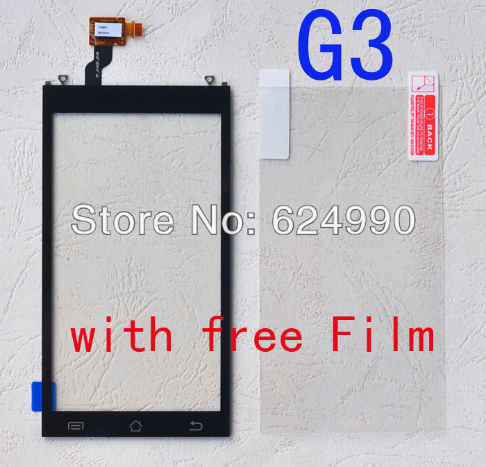 For JY G3T Touch Screen g3s Digitizer Replacement for JIAYU G3 G3S Touch Pane free shipping Black