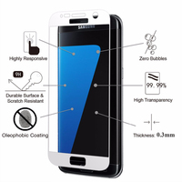 Full Cover Premium Tempered Glass Screen Protector for Samsung Galaxy S7 SM-G930A G9300 G930 Protective Film