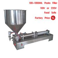 Pneumatic perfumes packaging filler bubble tea liquid filling machine cosmetic filling machine tube filling equipment 1L dosing