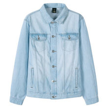 SEMIR джинсовые куртки мужские пальто темно-синие повседневные джинсовые куртки для подростков хлопковые куртки-бомберы с длинными рукавами ...(China)