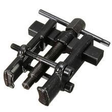 35 mm x 45 mm tipo negro plateado dos mordazas extractor de engranajes armadura rodamiento espiral tecnología del forjado desmontaje de reparación de motocicletas