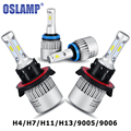 H4 H7 H11 H13 9005 HB3 9006 HB4 72W LED Car Headlight Bulb Hi Lo Beam