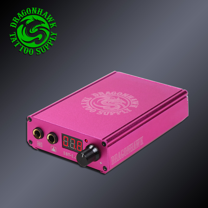 Professional LCD Battery Power Box Dual USB Charging Port Tattoo Machine Phone Power Supply