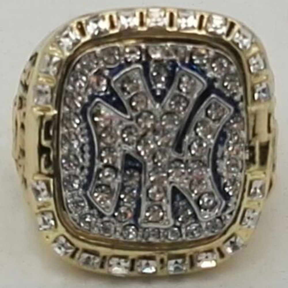 Wholesale Sale Bottom Price for Replica Newest Design 1999 New York Yankees Major League Baseball Championship Ring for Fans(China (Mainland))