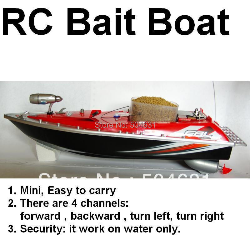 wholesale skyrules working distance 200yd red  F-2  RC Bait Fishing Boat