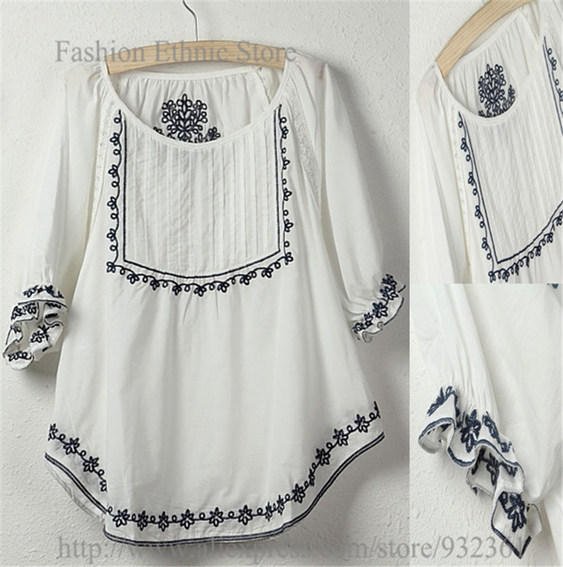 Aliexpress buy vintage mexico floral embroidery
