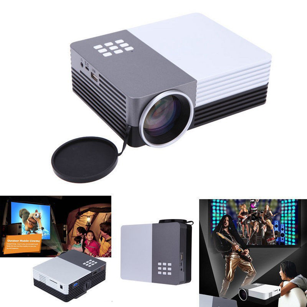 mini multimedia projector outdoor portable led video game