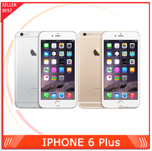 "2014 Unlocked Original Apple iPhone 6 Plus Mobile phone 5.5"" 1GB RAM 16/64/128GB ROM EMS DHL Free Shipping(China (Mainland))"