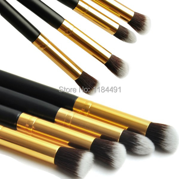 1Set/4pcs Professional Eye brushes set eyeshadow Foundation Mascara Blending Pencil brush Makeup tool Cosmetic Black YzxIK(China (Mainland))
