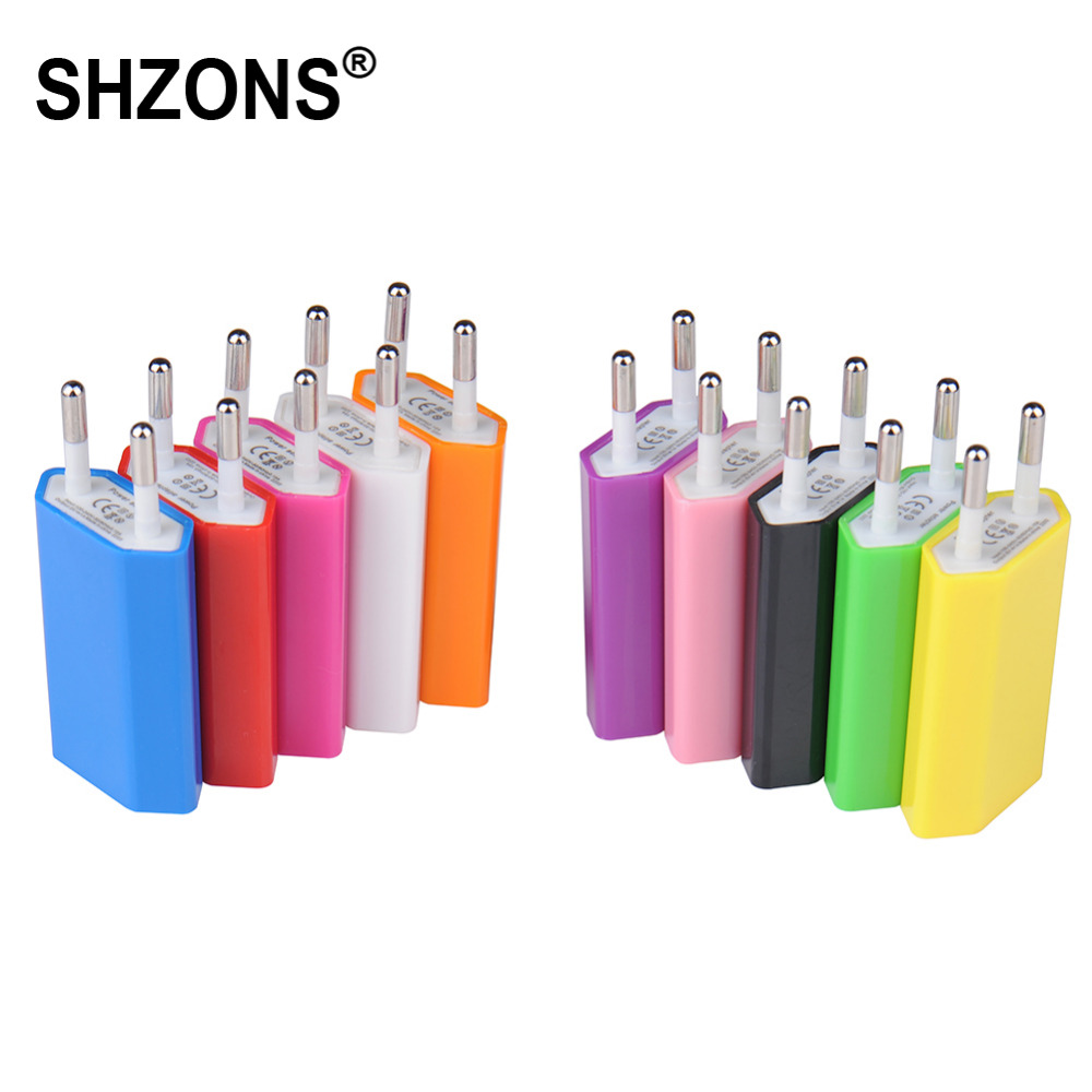 Hot Sale EU Plug USB Wall Charger Travel Home AC Wall Charger Adapter for iPhone 5s 6s 7 Plus for Samsung S5 S6 S7 Phone Charger(China (Mainland))