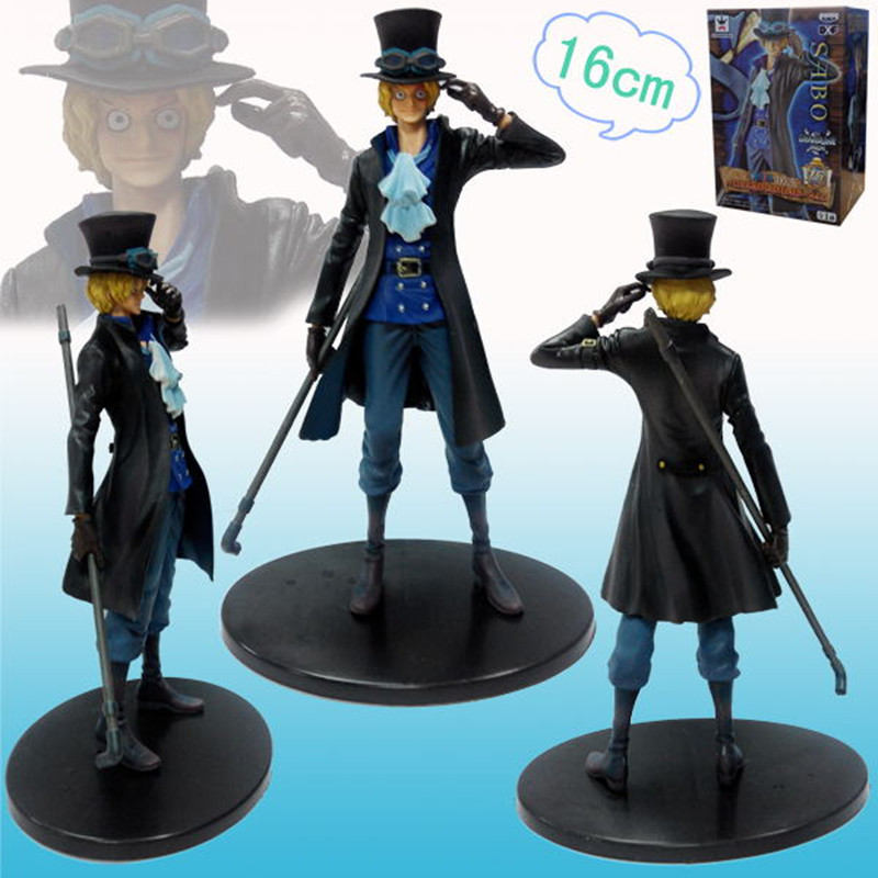 Box Toys One Piece Anime Action Figure Cosplay Juguetes One Piece Figure 18cm Sabo Brinquedos Model Kids Toys(China (Mainland))