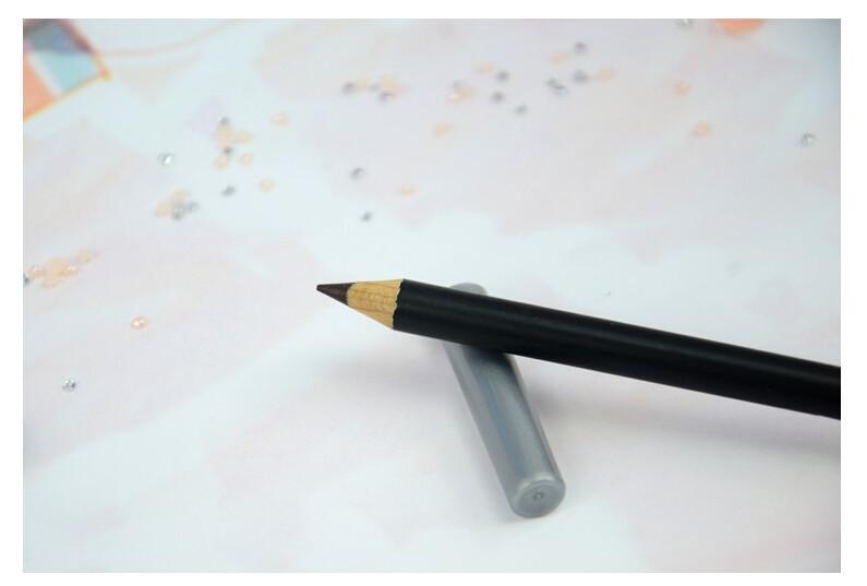 0.99USD 2шт/много новейших надолго черный глаз лайнера гладкой Косметический макияж подводка для глаз карандаш
