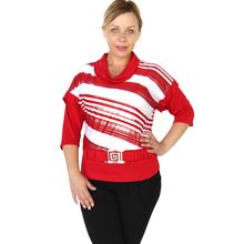 BFDADI Новые модные топы женская майка бат три четверти рукав, 2016 осенные и зимные широкие футболки 9157(China (Mainland))