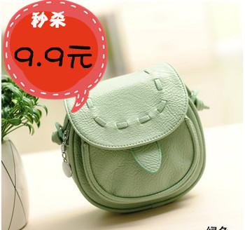 2pcs/lot 2014 mobile phone candy color mini messenger bag small bag cross-body change female bags