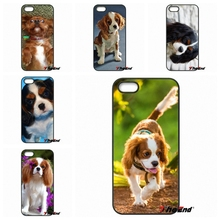 Buy Cute Cavalier King Charles Spaniel dog phone case iPhone 4 4S 5 5C SE 6 6S 7 Plus Galaxy J5 J3 A5 A3 2016 S5 S7 S6 Edge for $4.99 in AliExpress store