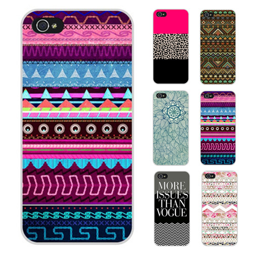 Indian Retro Stripe Leopard Floral Flag Case Cover Back Skin iPhone 4S 4 5S 5 5C - Top-Rated & Dropshipping Shop store