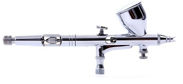 Precision Dual-action 9cc 0.2mm Airbrush Pen Spray Gun for Art Paint Nail