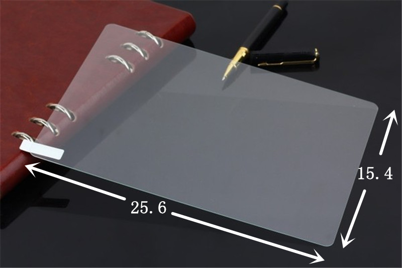 2Pcs/Lot 10 inch 10.1 inch Universal Tempered Glass Screen Protector Film For Tablet + Alcohol Cloth + Dust Absorber(China (Mainland))
