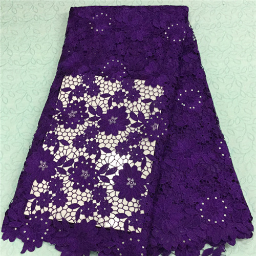 Beautiful colour lace high quality african cord lace fabric online,good price african guipure lace in stock