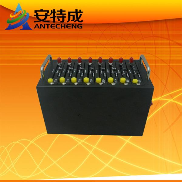 Bulk sms  8 ports  wavecom gsm  modem pool Sim modem ussd stk mobile recharge system