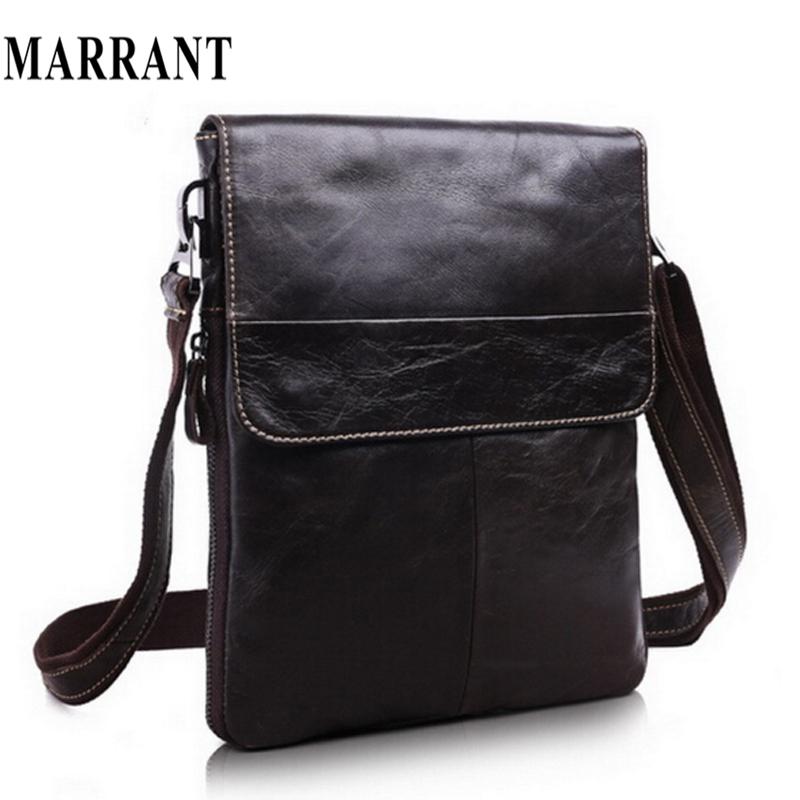 Real Genuine Leather men bags men Messenger bag Shoulder Bag men's briefcase vintage shoulder coffer cowhide leather bags 2015