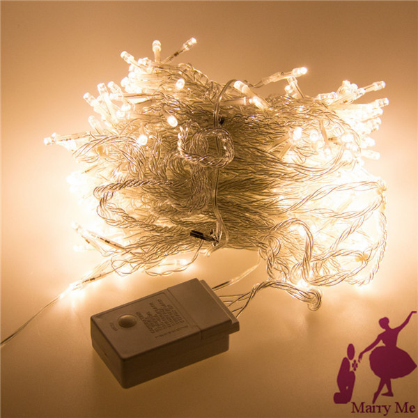 3 x6m 600 LED Outdoor Party Christmas xmas String Fairy Wedding Curtain Lights Lighting 8 Modes(China (Mainland))