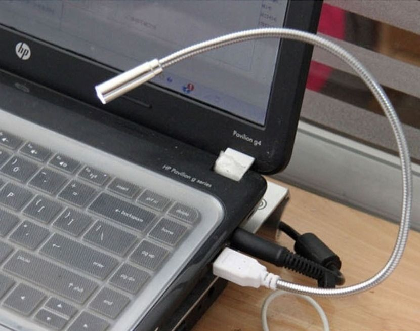 Flexible LED USB Reading Lighting Light Lamp PC Notebook Laptop Computer - Honesty Convenience Stores store