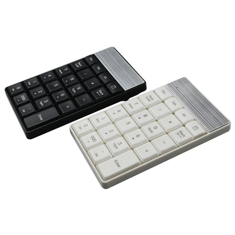 Portable USB 2.4G Wireless Number Keypad 23 Keys Small Mini Keyboard With Calculator Key For Accounting Tablet Laptop Desktop<br><br>Aliexpress