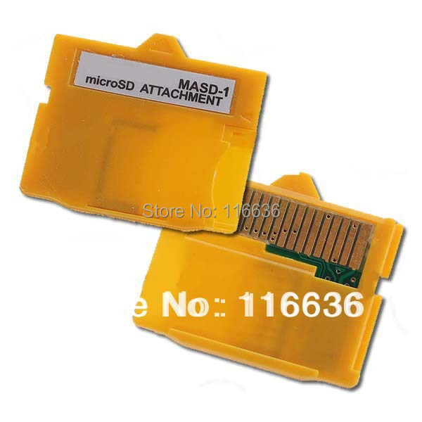 1pc XD adapter MASD-1 card memory generic reader FOR ALL micro sd 2gb 4gb 8gb class 2 4 6(China (Mainland))