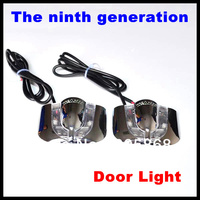 HOT SALE!!!The 9th generation New 7W Car Door Welcome Light Laser Lights with car logo  Shadow light