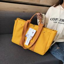 Pacote de Saco de Compras Tote Sacos de Ombro da lona das Mulheres Sacos Crossbody Bolsas Bolsa Casual Para As Mulheres(China)