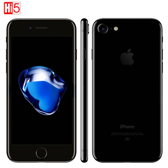 Оригинальный Apple iPhone 7 2 ГБ ОЗУ 32/128 ГБ/256 ГБ ROM IOS 10 LTE 12.0MP Камера Quad-Core Отпечатков Пальцев новые Сотовые Телефоны iphone7