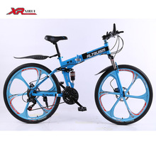 Kids Mountain Folding bicycles for Mens unisex children boys Altruism xirui X9 21 speed 26 inch steel bike bicycle downhill(China (Mainland))