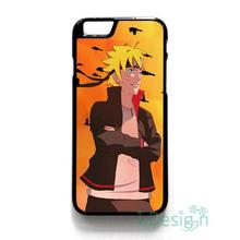 Fit for iPhone 4 4s 5 5s 5c se 6 6s 7 plus ipod touch 4/5/6 back skins cellphone case cover NARUTO THE BORUTO KYUBI