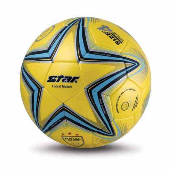 Free shipping! High quality Match use Star Soccer Ball/Football Size 4 FB524-05 FUTSAL Gift: gas pin & net bag