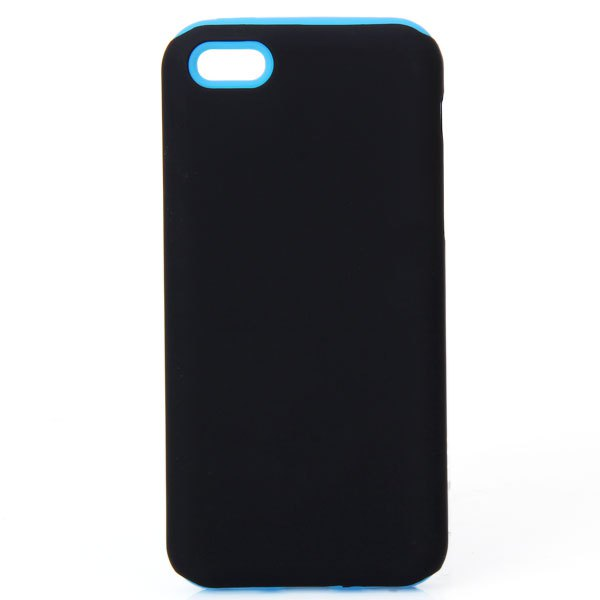 Stylish and Elegant Detachable Style Silicone&Plastic 2 in 1 Protective Case for iPhone 5C 5S SE Simple Design Trendy Phone Case(China (Mainland))