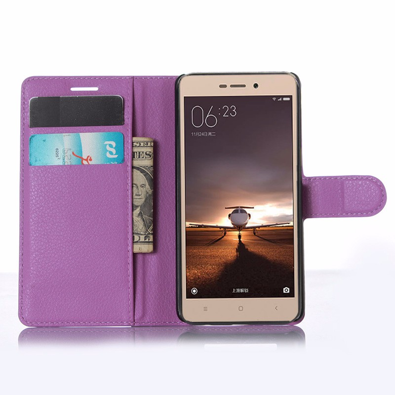 For Xiaomi Redmi 3 Pro Case 5.0 Wallet PU Leather Back Cover Case For Xiaomi Redmi 3 Redmi3 Pro Case Flip Protective Phone Bag (9)